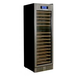 Kibernetik Weinklimaschrank Chromstahlrahmen - für 138 Flaschen