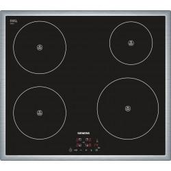 Induktions-Kochfeld-Glaskeramik Siemens EH645BE17E, 60 cm, Flachrahmen-Design, touchControl,