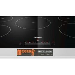 Hergestellt - Siemens - Einbau - Induktions-Kochfeld-Glaskeramik EH801FM17E iQ100, 80 cm, flächenbündig,