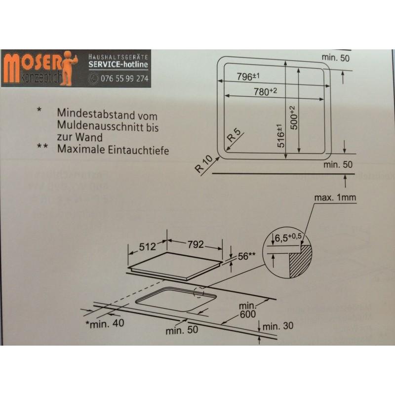 Hergestellt Siemens Einbau Induktions Kochfeld