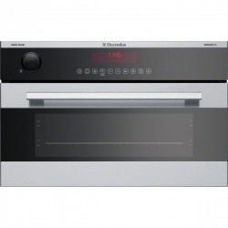 ELECTROLUX EBCGL70CN Chrom Solo Steam Compact 60cm