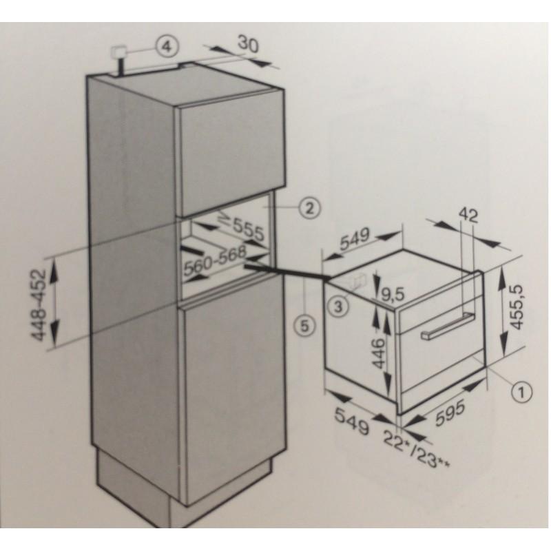 Miele dgc5080ed einbau combi dampfgarer edelstahl for Dampfgarer edelstahl
