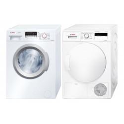 Bosch Waschturm Waschmaschine WAB282A2CH + Trockner  WTH83000CH