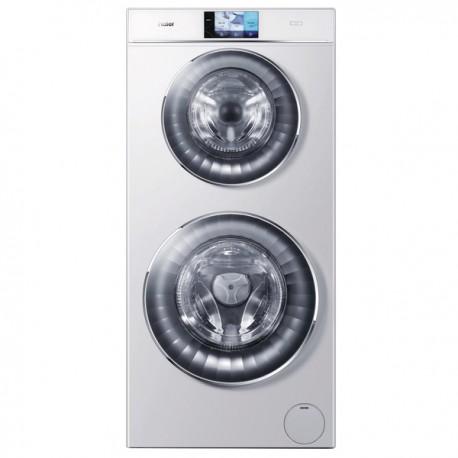 haier hw120 b1558 waschmaschine 2 waschmaschinen in einer moser konzept. Black Bedroom Furniture Sets. Home Design Ideas