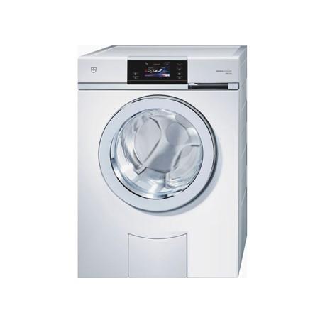 V-Zug Adora SLQ WP WAASLQWP3Mlc / Wärmepumpe, Einlauf 3m, Ablauf 4m Chrom, Türbandung links Waschmaschine