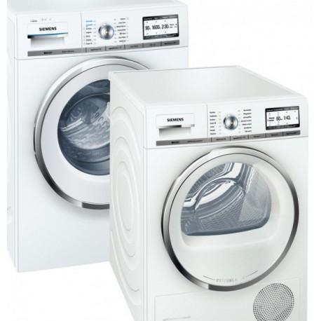siemens waschturm waschmaschine wm16y892 i dos w schetrockner siemens wt48y782 inkl. Black Bedroom Furniture Sets. Home Design Ideas