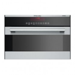ELECTROLUX EBCSL9CN Compact Heissluft + Mikrowelle + Grill CH-Norm 55cm Chrom