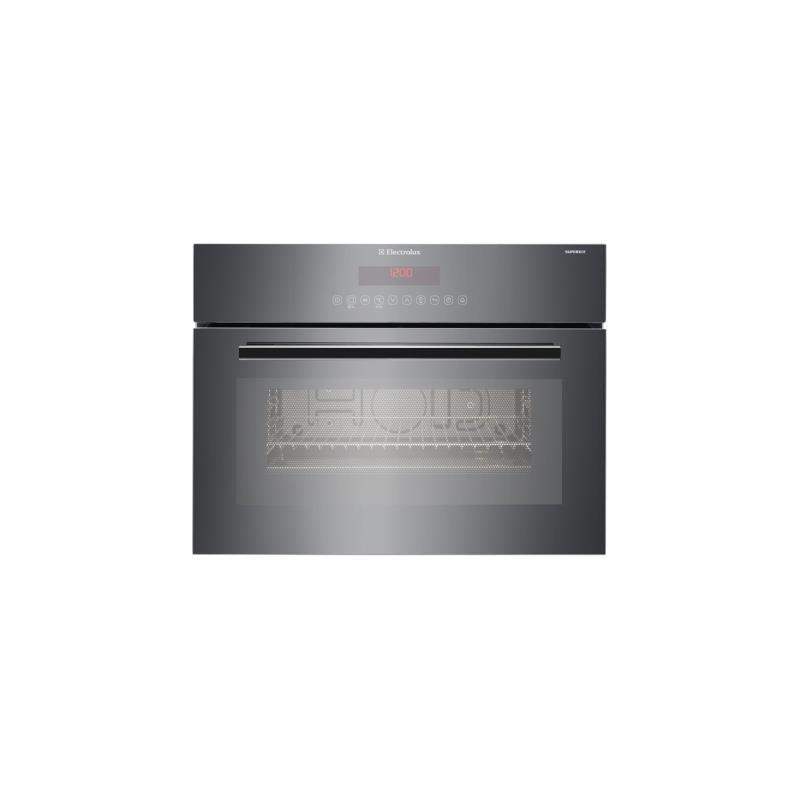electrolux eb4sl90sp backofen mikrowelle compact 45 60cm. Black Bedroom Furniture Sets. Home Design Ideas