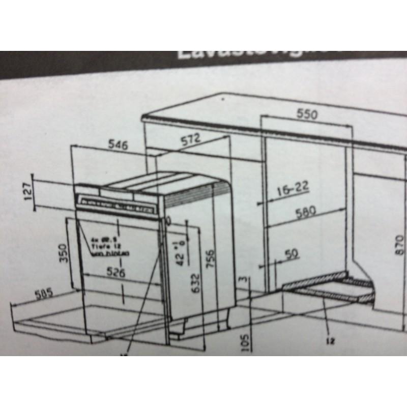Electrolux Geschirrspuler Ga 55 Li Einbau 55cm Weiss Reallife A